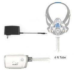 AirMini AutoSet Travel Auto CPAP with AirFit F20 Full Face Mask