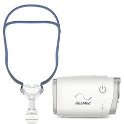 AirMini AutoSet Travel Auto CPAP with AirFit P10 Pillows Mask