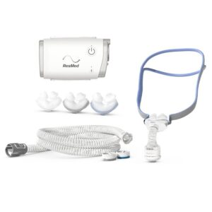 AirMini AutoSet Travel Auto CPAP with AirFit P10 Pillows Mask, ResMed