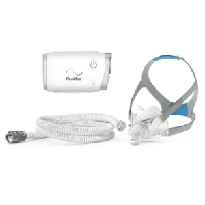AirMini AutoSet Travel Auto CPAP with AirFit F30 Full Face Mask, ResMed