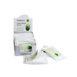 CPAP Mask Wipes in Travel Package of 10, PÜRDOUX