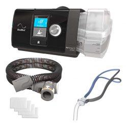 AirSense 10 AutoSet Auto CPAP + AirFit P10 Pillows CPAP Mask - Bundle Package