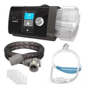 AirSense 10 AutoSet Auto CPAP + AirFit P30i Nasal CPAP Mask – Bundle Package